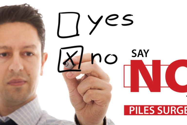 Say No to Piles Surgery