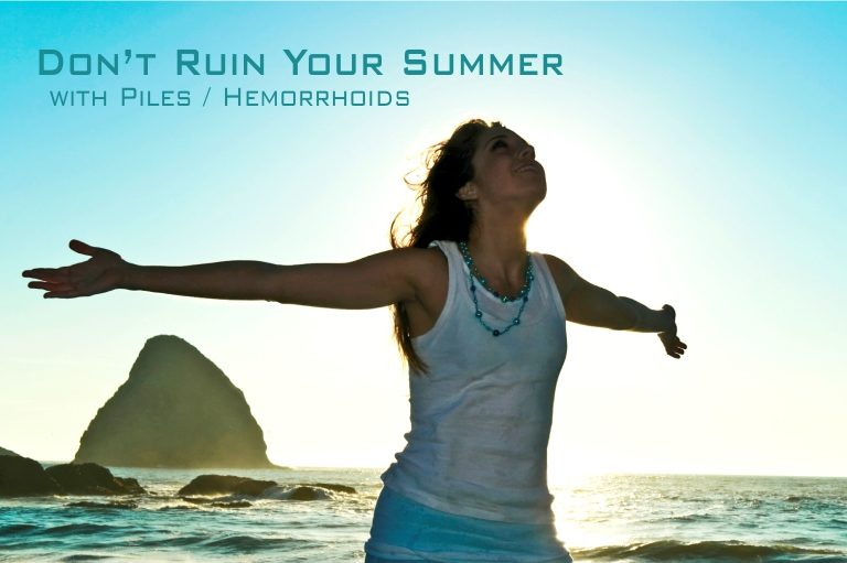 Don't ruin your summer with piles