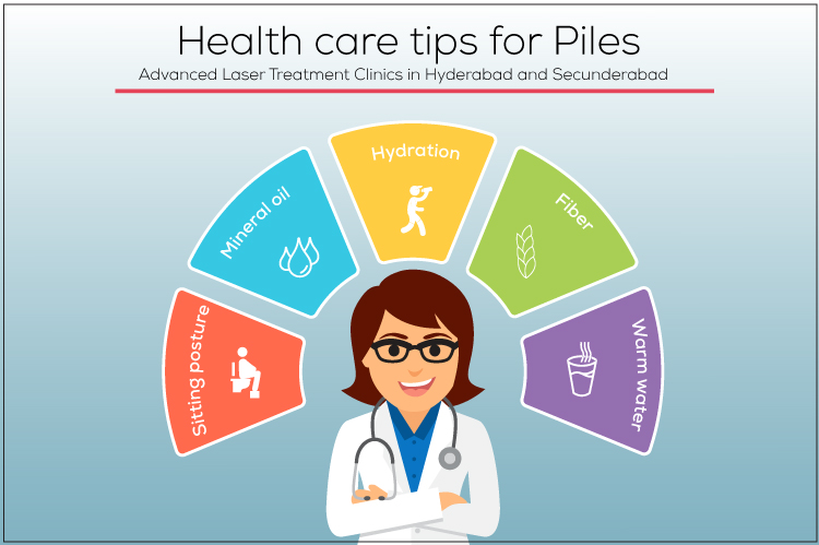 self-help tips for piles