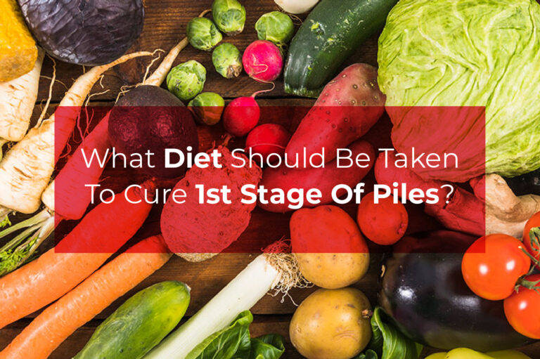 1st stage of piles diet
